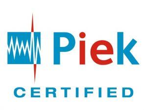 PIEK_Certified_Logo